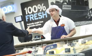 Sainsbury's fish counter